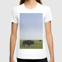 buffalo T-shirts featuring Buffalo by AlanW