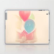 Balloon Girl Laptop & iPad Skin