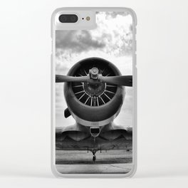 Warbird BW Clear iPhone Case