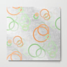 design in pastel tones -2b- Metal Print