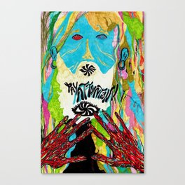 (Pay Attention) Canvas Print