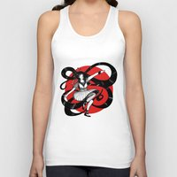 dancing Tank Tops featuring Dancing by Wivita