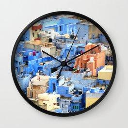 life in Jodhpur Wall Clock