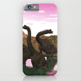 Brachiosaurus iPhone Case