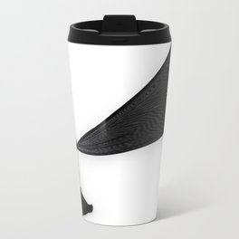 El Negro de Maya #1 Metal Travel Mug
