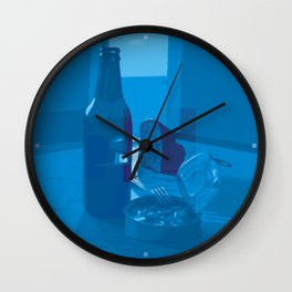 Monday Blues Wall Clock