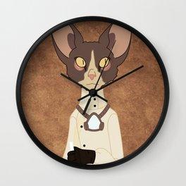 Cornish Rex Wall Clock
