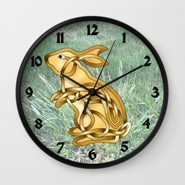 Rabbit Knot Wall Clock