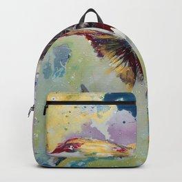 fish memory Backpack