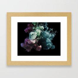 Colored Smoke One Framed Art Print