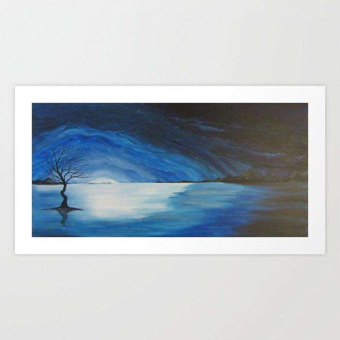 Lake of Longing Art Print