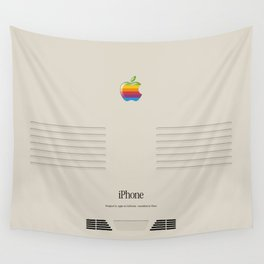 iPhone Macintosh retro design Wall Tapestry
