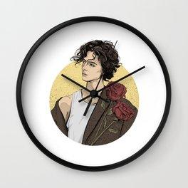 Timothee Chalamet Wall Clock