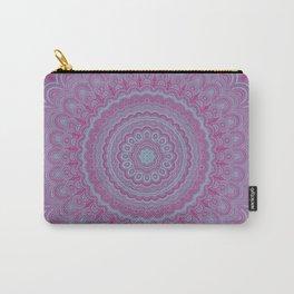 Geometric flower mandala Carry-All Pouch