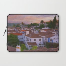 The walled town of Obidos, Portugal Laptop Sleeve