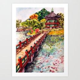 Beauty of Korea Art Print