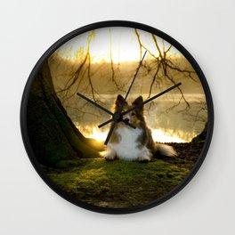 Shetland Sheepdog (Sheltie) Wall Clock