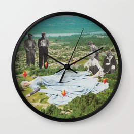 THIS IS NOT A DREAM Wall Clock