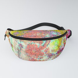 Living Coral abstract Fanny Pack
