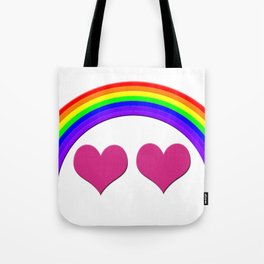 Rainbow Equal Love Tote Bag