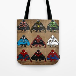 Spider-man - The Year of the Costumes Tote Bag