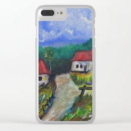 Abandoned Farm Clear iPhone Case