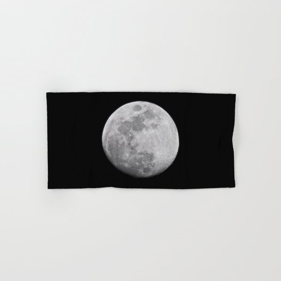Moon #lunar Hand & Bath Towel