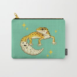 Sparkly Leopard Gecko Carry-All Pouch