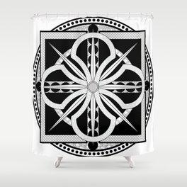 Viking Inspired Shower Curtain