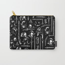 Arms and Armor - white Carry-All Pouch