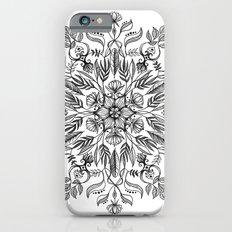 Thrive - Monochrome Mandala iPhone 6s Slim Case