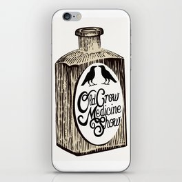 Old Crow Medicine Show Tonic iPhone Skin