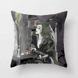 Let Your Hair Down Throw Pillow