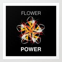 FlowerPower Art Print