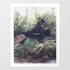Stay Rooted Art Print