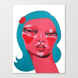 INTERLOCKED Canvas Print