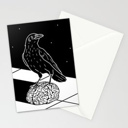 Huginn Muninn Stationery Cards