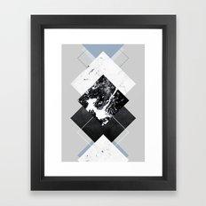 Geometric Textures 5 Framed Art Print