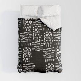 Funny, strange, crazy lines Comforters