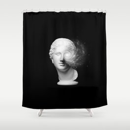 microcosm Shower Curtain