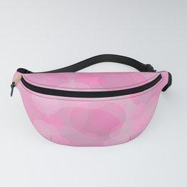 Pink Bubbles 3 Fanny Pack