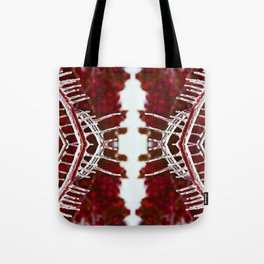 Ice Lines Tote Bag
