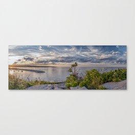 Headlands Sunset Pano 6-9-18 Canvas Print