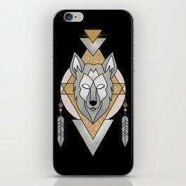 Mystic Wolf iPhone Skin