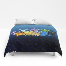 """The Dream Team"" - X & Y Eeveelutions Comforters"