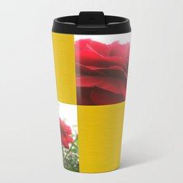 Red Rose with Light 1 Blank Q7F0 Travel Mug