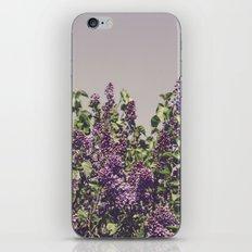 Wild Lilacs iPhone Skin