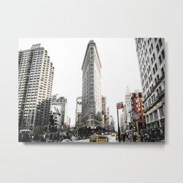 Desaturated New York Metal Print