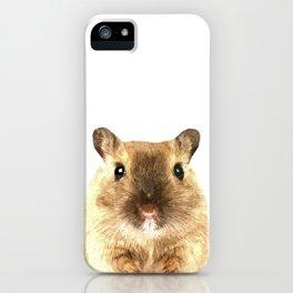 Hamster Portrait iPhone Case