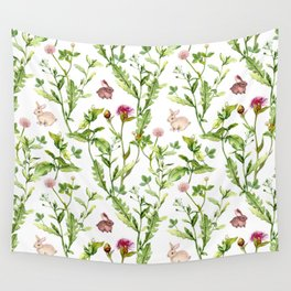Easter Bunny Garden Wall Tapestry